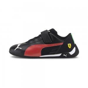 Детские кроссовки Ferrari Race R-Cat V PS PUMA. Цвет: черный