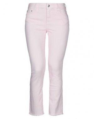 Джинсовые брюки DOUUOD. Цвет: розовый