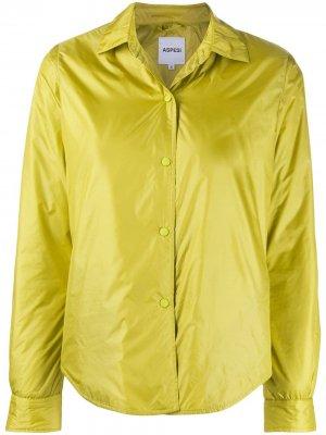 Куртка-пуховик Aspesi. Цвет: желтый