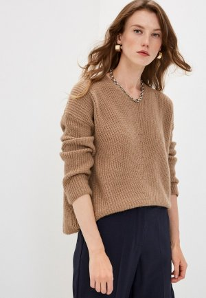 Пуловер Weekend Max Mara. Цвет: коричневый