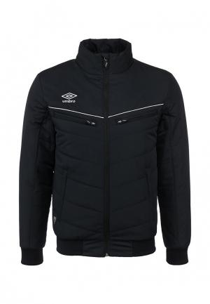Куртка утепленная Umbro LIGHT PADDED JACKET. Цвет: черный