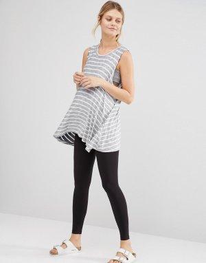 Леггинсы для беременных -Черный Emma Jane