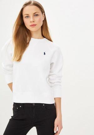 Свитшот Polo Ralph Lauren. Цвет: белый