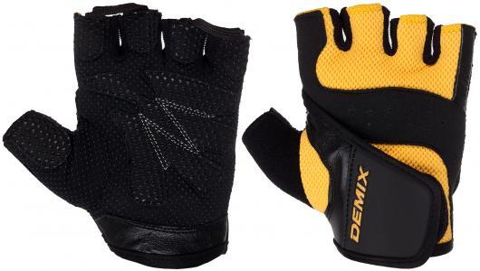 Перчатки для фитнеса Demix. Цвет: оранжевый