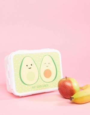 Контейнер для хранения завтраков в форме авокадо -Мульти Sass & Belle
