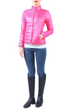 Куртка EVA Milano. Цвет: розовый