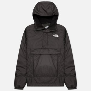 Мужская куртка анорак Insulated The North Face. Цвет: чёрный