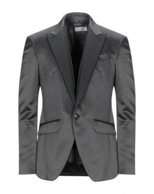 Пиджак CARLO PIGNATELLI CERIMONIA. Цвет: стальной серый