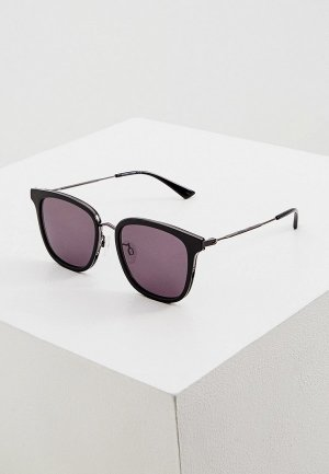 Очки солнцезащитные McQ Alexander McQueen MQ0279SA. Цвет: черный