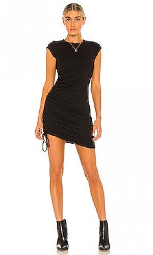 Платье indie LA Made. Цвет: черный