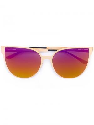 Солнцезащитные очки с градиентным эффектом Italia Independent. Цвет: нейтральные цвета