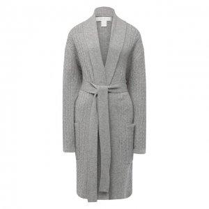 Кашемировый халат Arlotta. Цвет: серый