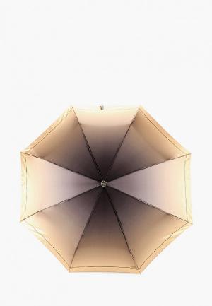 Зонт складной Fabretti. Цвет: желтый