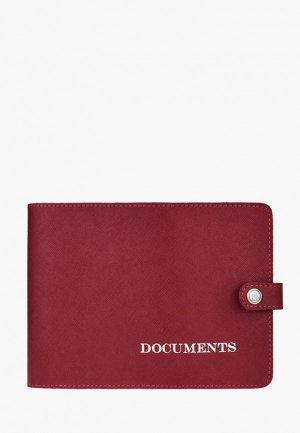 Обложка для документов BB1. Цвет: красный