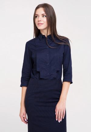 Рубашка Dlys D'lys. Цвет: синий