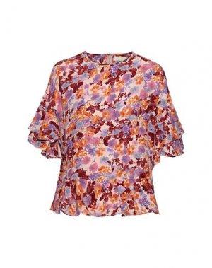 Блузка byTIMO. Цвет: розовый