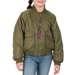 Куртка KG0KG04913 темно-зеленый TOMMY HILFIGER