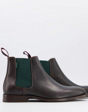 Коричневые ботинки челси Gerald-Черный цвет PS Paul Smith