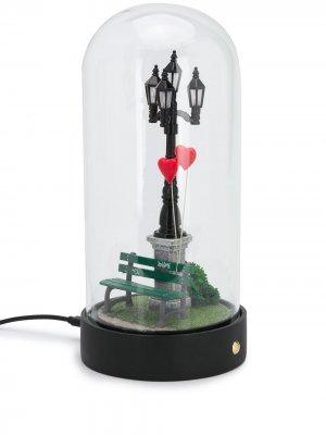 Лампа My Little Valentine Seletti. Цвет: черный