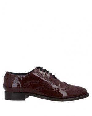 Обувь на шнурках ENTOURAGE. Цвет: красно-коричневый