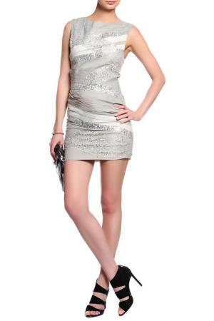 Платье ALICE+OLIVIA. Цвет: серый