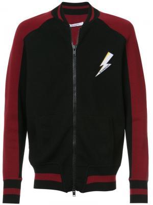 Куртка-бомбер с нашивкой логотипа Givenchy. Цвет: черный