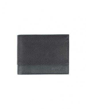 Бумажник BALDININI. Цвет: темно-синий