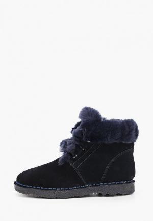 Ботинки Baden. Цвет: синий