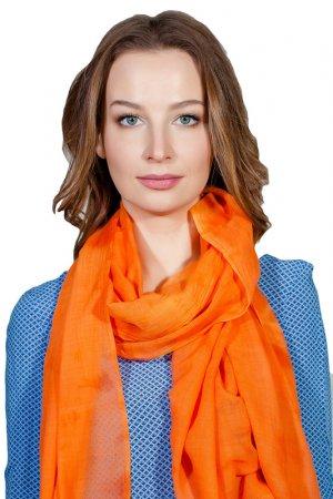 Палантин Ballantyne. Цвет: оранжевый