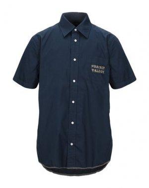 Pубашка COTTONFIELD. Цвет: темно-синий
