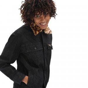 Куртка Strauberry Denim VANS. Цвет: черный