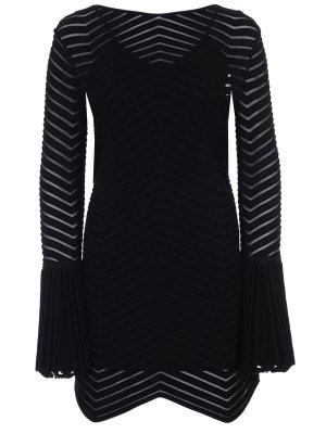 Платье с сеткой ANTONINO VALENTI