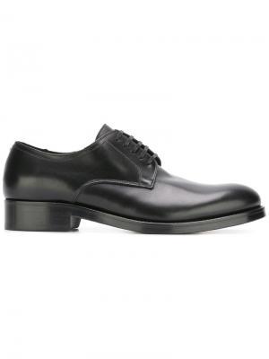 Туфли оксфорды Dsquared2. Цвет: черный