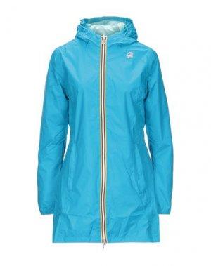Легкое пальто K-WAY. Цвет: лазурный