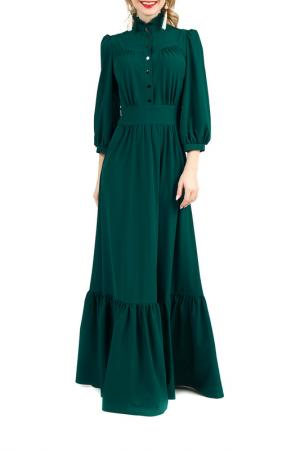 Платье MARICHUELL. Цвет: изумрудный