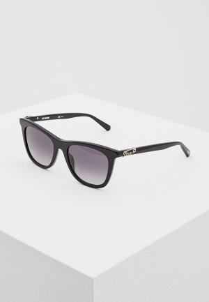 Очки солнцезащитные Love Moschino MOL005/S 807. Цвет: черный