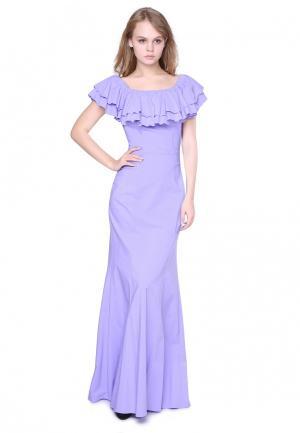 Платье Marichuell FERRE. Цвет: фиолетовый