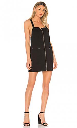 Платье lopes BB Dakota. Цвет: черный