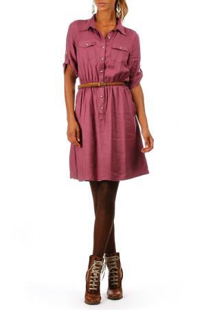 Платье ANMOL. Цвет: розовый