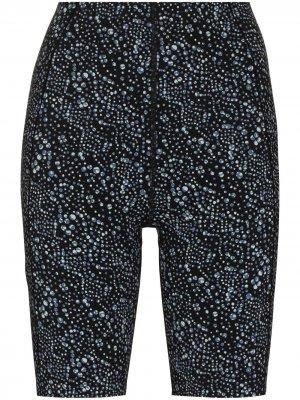 Облегающие шорты Power с завышенной талией Sweaty Betty. Цвет: синий