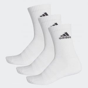Три пары носков Cushioned Performance adidas. Цвет: черный