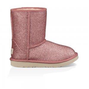 Classic Short Ii Glitter Kids UGG. Цвет: розовый