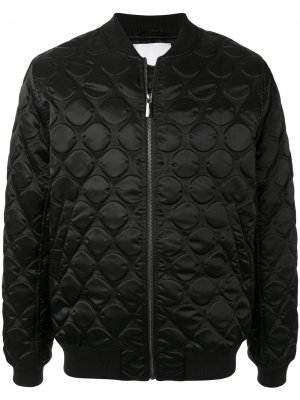 Стеганая куртка-бомбер Ports V. Цвет: черный