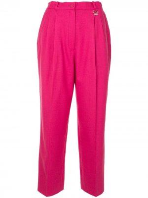 Брюки прямого кроя Christian Dior. Цвет: розовый