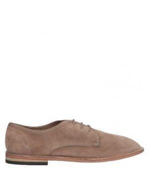 Обувь на шнурках HUDSON. Цвет: хаки