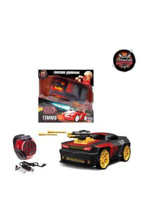 Машина Пламенный Мотор. Цвет: черный