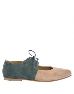 Обувь на шнурках ERNESTO DOLANI. Цвет: пудровый