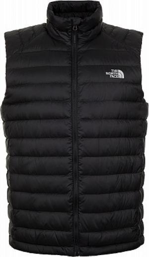 Жилет пуховый мужской Trevail Vest, размер 44-46 The North Face. Цвет: черный