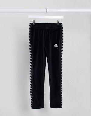 Черные спортивные брюки -Черный Kappa