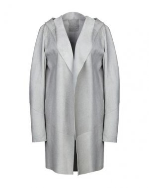 Легкое пальто 10SEI0OTTO. Цвет: светло-серый